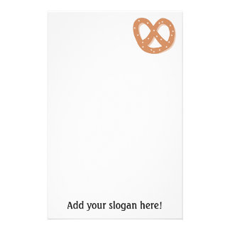 Customize this Pretzel Knot graphic Personalised Stationery