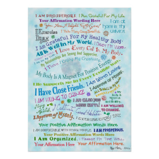 Customize this Whale's Eye Affirmation Poster