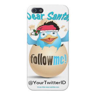 Customize Twitter Dear Santa Gifts Apparel iPhone 5/5S Cover