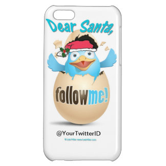 Customize Twitter Dear Santa Gifts Apparel iPhone 5C Cover