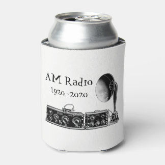 Customize Vintage AM Radio Receiver Can Cooler