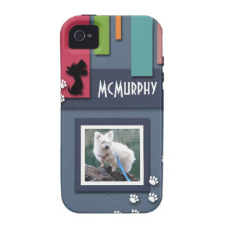 Customize w/ Your Dog Photo - Cairn Terrier Themed iPhone 4/4S Cover
