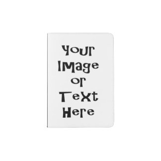 Customize with personalized pictures and text passport holder