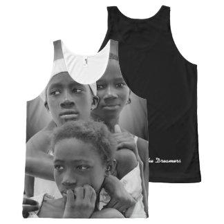 Customize Women Tank , African Women, Art Design