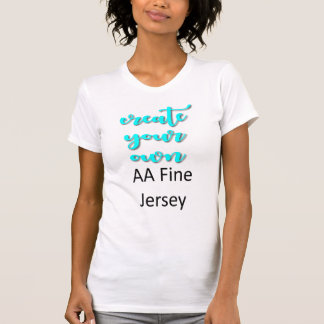 Customize Your AA Fine Jersey T-Shirt