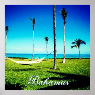 Customize Your Bahamas Text Poster