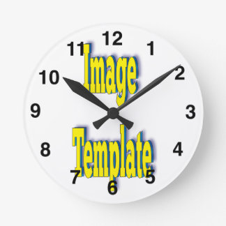 Customize Your Clock Image Template