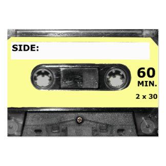 Customize Your Color Cassette Business Card Template