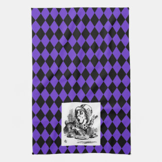 Customize your color Harlequin Mad Hatter Towel