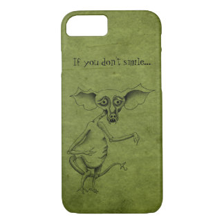 Customize Your Goblin on Grungy Green iPhone 7 Case