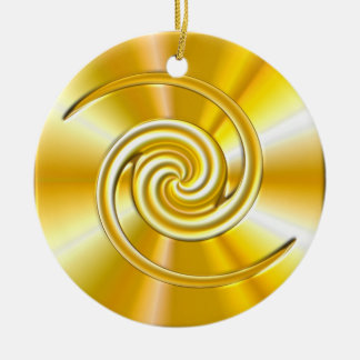 Customize Your  Golden Ornament