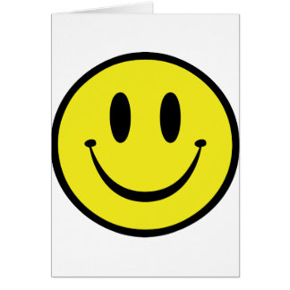 Customize your Happy Face Card