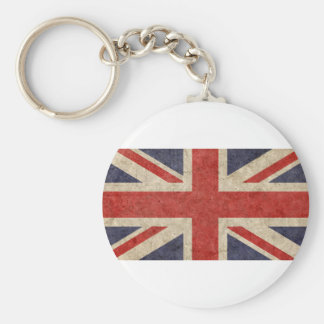 Customize Your Own: British Flag Basic Round Button Key Ring