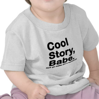 Customize Your Own Cool Story Bro Babe Shirts