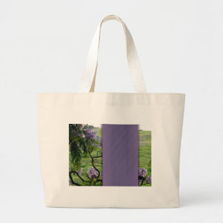 Customize your own country wedding jumbo tote bag