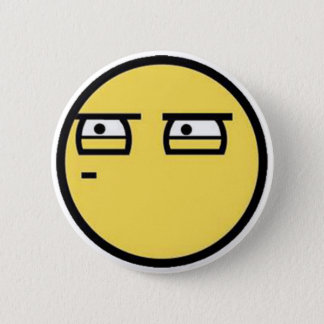 Customize Your Own: Glare Smiley Face 6 Cm Round Badge