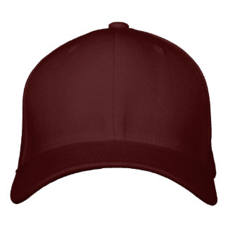 Customize Your Own Maroon Adjustable Baseball Cap