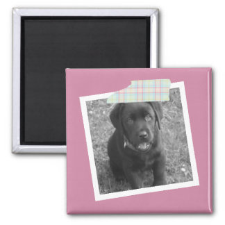 Customize Your Own Personalized Photo Square Magnet