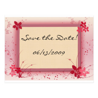 Customize your own Save the Date Postcard