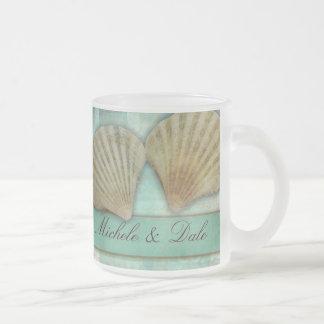 Customize your own seashell design mugs