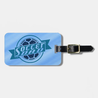 Customize Your Own Soccer Dad Luggage Tag