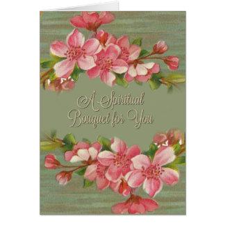 CUSTOMIZE your own Spiritual Bouquet Prayer Card