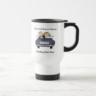 Customize Yourself Just Married Travel Mug/Cup Travel Mug