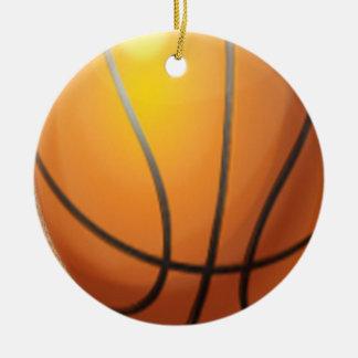 Customizeable Basketball Christmas ornament