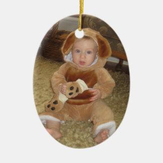 Customizeable Christmas photo ornaments
