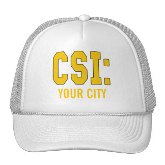 CUSTOMIZEABLE CSI Products Cap