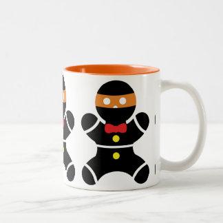 Customizeable Ginger Ninja Two Color Two-Tone Coffee Mug