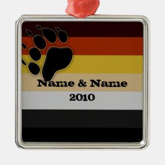 Customized Bear Pride Ornament