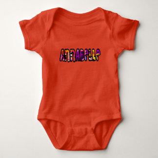 Customized body you drink Annabelle Baby Bodysuit