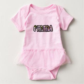 Customized body you drink Emma Baby Bodysuit