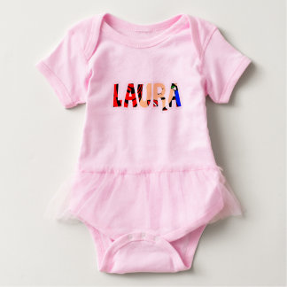 Customized body you drink Laura Baby Bodysuit