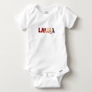 Customized body you drink Laura Baby Onesie