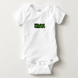 Customized body you drink Max Baby Onesie