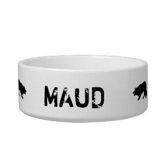Customized,  Border Collie dog bowl. Sheepdog. Bowl