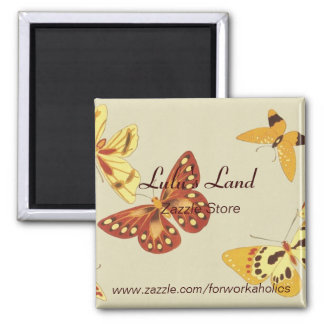 Customized Business Butterfly Magnet