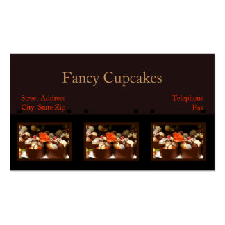 Customized Cupcake Business Cards