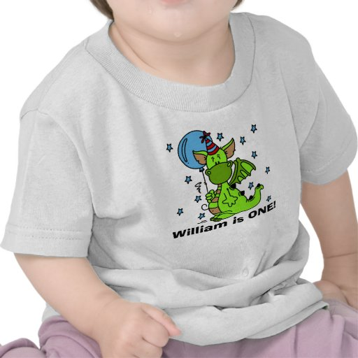 Customized Dragon Birthday T-shirt