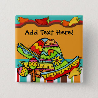 Customized Fiesta Button
