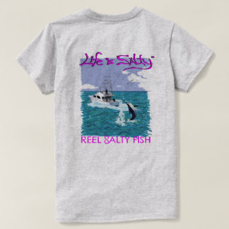 Customized fishing shirt for her!