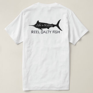 "CUSTOMIZED FISHING SHIRT ""REEL SALTY FISH""🎣"