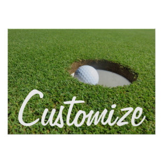 Customized Golf Poster