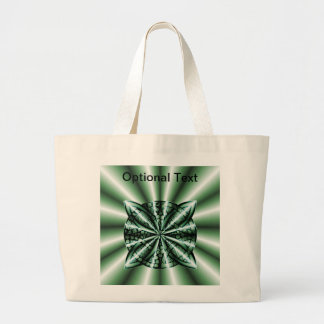 Customized Green Metallic Celtic Knot Bags