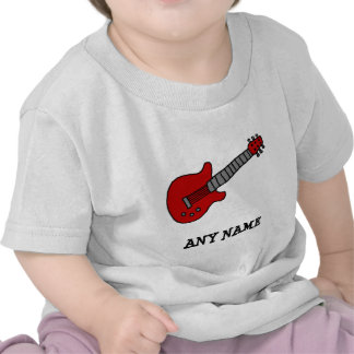 Customized Guitar Shirt for Boys or Girls