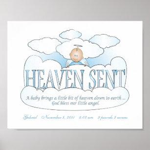 Heaven Sent Baby Kids Zazzle Com Au