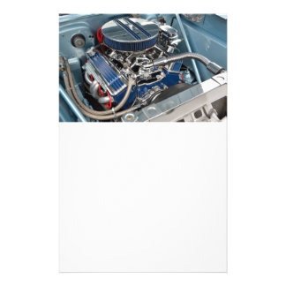 Customized High Performance Car Engine 14 Cm X 21.5 Cm Flyer