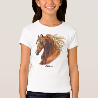 Customized Horse Invitations and Cards T-Shirt